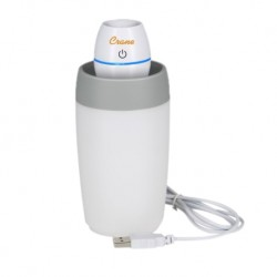 Crane Travel Cool Mist Humidifier (White)