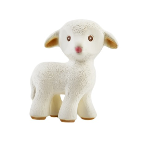 Caaocho Mia The Lamb (Natural Rubber Teething Toy)