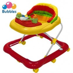 Bubbles Baby Walker (Sunny Red)