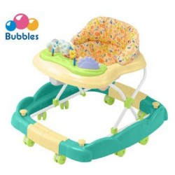 Bubbles 2 in 1 Baby Walker (Smiley Green)