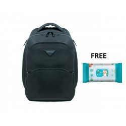 Terminus Daddy Cool (Compact Edition) Diaper Backpack Black FOC Baby Wipes 100 Sheets