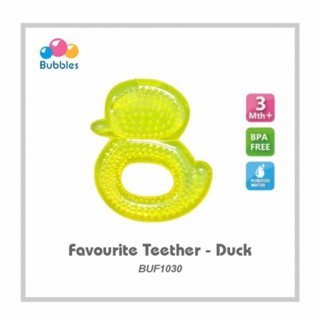 Bubbles Favourite Teether (Duck)