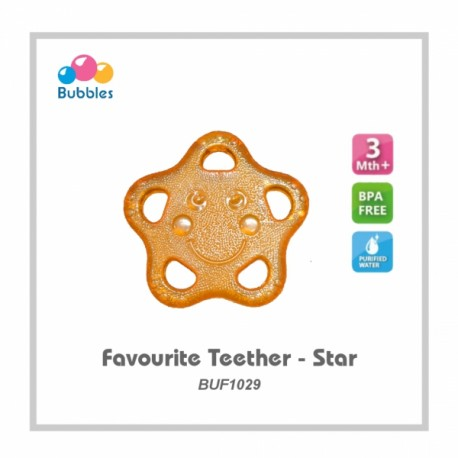 Bubbles Favourite Teether (Star)