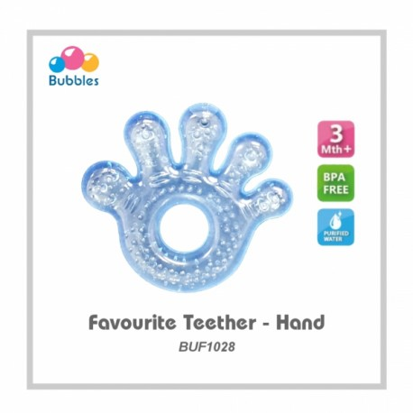 Bubbles Favourite Teether (Hand)