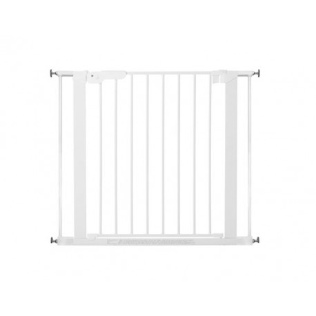 Baby Dan Premier True Pressure Fit Safety Gate White with 2 Extensions (73.5 - 93.3cm)