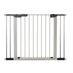 Baby Dan Premier Safety Gate Silver with 4 Extensions (73.5 - 106.3cm) DAN601174