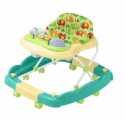 Bubbles 2 in 1 Baby Walker (Green Eli -BB)
