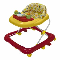Bubbles Baby Walker (Red Safari - BB)