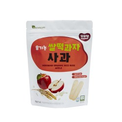 Renewallife DDODDOMAM Organic Rice Rusk - Apple