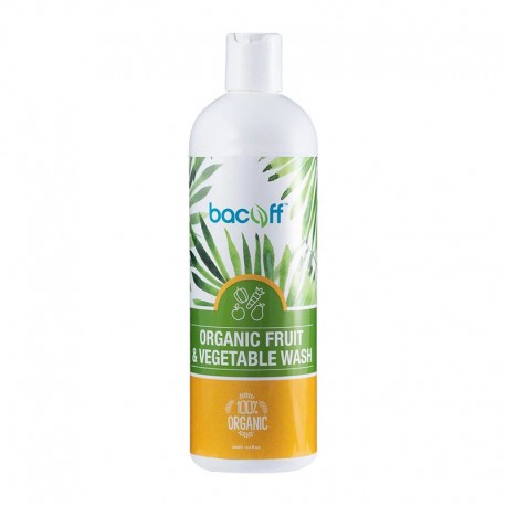 Bacoff™ Organic Fruit & Vegetable Wash 500ml