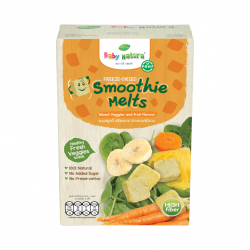 Baby Natura Freeze-Dried Smoothie Melts (Mixed Veggie and Fruit Flavour)