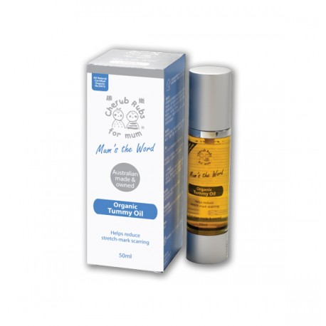 Cherub Rubs for Mom - Tummy Oil (50ml)