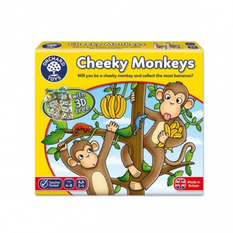 Orchard Toys Game - Cheeky Monkey Game