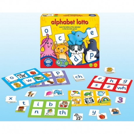 Orchard Toys Game - Alphabet Lotto