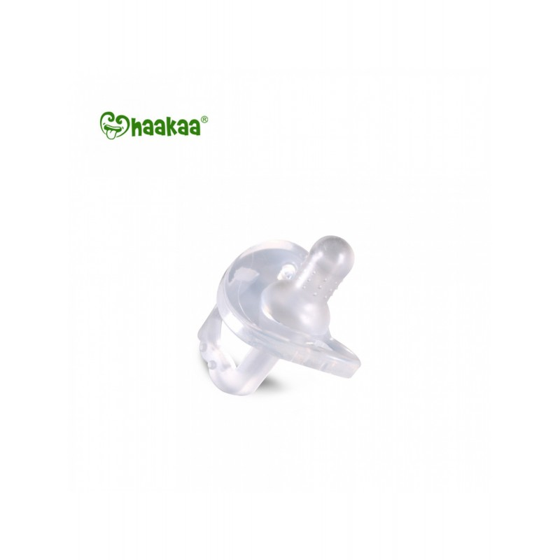 193a7170f3d59 Haakaa New Born Silicone Dummy. Loading zoom