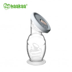 Haakaa COMBO Silicone Breast Pump (150ml) & Silicone Cap