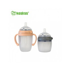 Haakaa Generation 3 Silicone Baby Bottle (160ml/250ml)