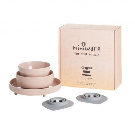 Miniware Eating Master (Set of 5) - Sandy Stone