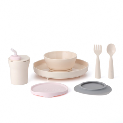 Miniware Little Foodie Set (PLA Series) - Cotton Candy