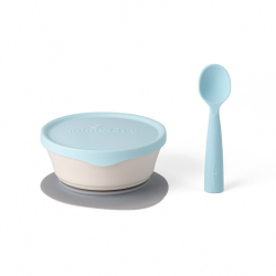 Miniware First Bite Set (PLA Series) - Aqua