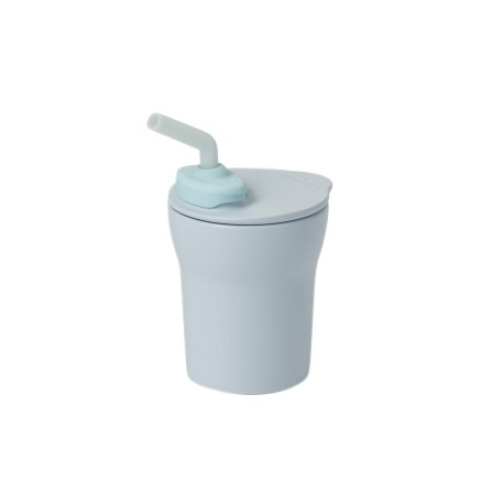 Miniware 1-2-3 Sip Sippy Cup (Coloured PLA Series) - Aqua