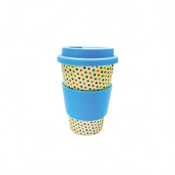 Rice Husk Ware Cafe Mug (New Series) - Candy + Blue