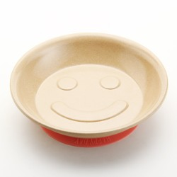 Rice Husk Kids Noodle Plate with suction cup (Husk's Junior)