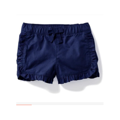 Old Navy Pull-On Ruffled Shorts for Baby (4934220420612)