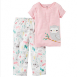 Carter's 2-Piece Cotton & Jersey PJs (353G096)