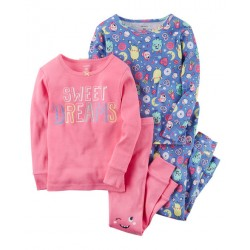 Carter's 4-Piece Sweet Dreams Snug Fit Cotton PJs (351G413)