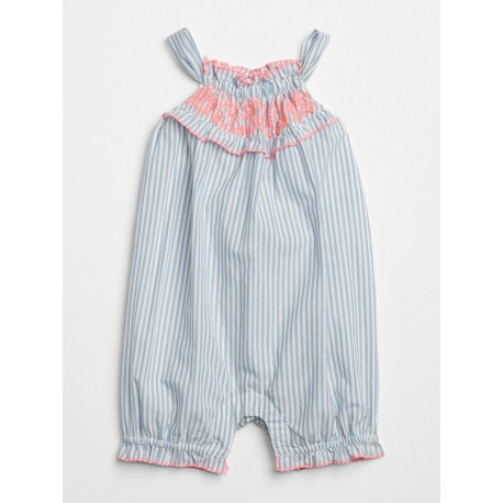 babyGap | Embroidered Bubble Shorty One-Piece (3200100021218)
