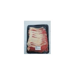 Halal Commissary Beef Striploin Sliced (Shabu Shabu) 1.5mm 300g/pack (Sold per Pack)