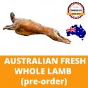 Halal Commissary Fresh Whole Lamb - Serves 55+/- Ppl (Pre Order) (Sold per Piece)