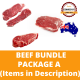 Halal Commissary Beef Bundle Package A (Items in Description)