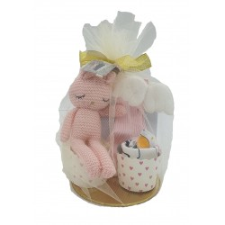 Akarana Baby Muffin Keke Hamper/ Gift Box for Baby (Pink)