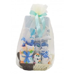 Akarana Baby Little One Baby Hamper / Gift for Newborn Baby (Blue)