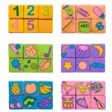 6pcs in 1 Set Baby Infants Fabric Blocks Toys Cloth Cube Early Learning Preschool Toys for Baby