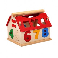 Baby Wooden Puzzle Blocks Educational Kids Toys