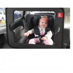 ab New Zealand 2-in-1 Baby Car Mirror and Tablet Holder
