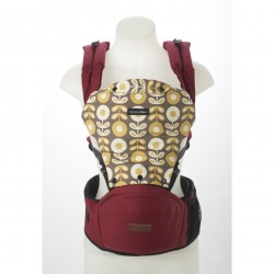 Akarana Baby Tauawhi Baby Hipseat Carriers Simple Fit (Rose Red)
