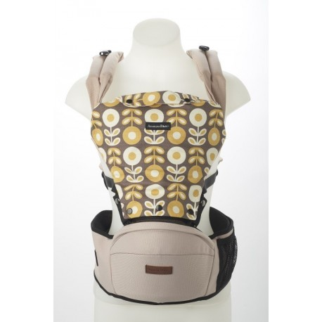 Akarana Baby Tauawhi Baby Hipseat Carriers Simple Fit (Mild Biege)