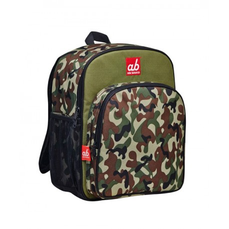 ab New Zealand Toddler Backpack - Woodland Half Camo