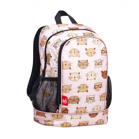 ab New Zealand Toddler Backpack - Brainy Cat