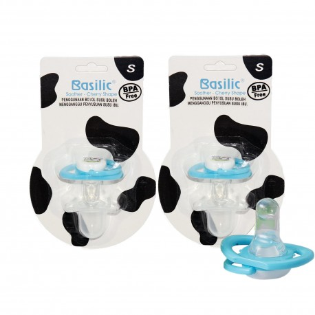 Basilic Soother in Cherry Shape Cow S - 2 Pieces