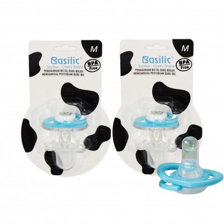 Basilic Soother in Cherry Shape Cow M - 2 Pieces