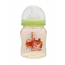 Basilic PPSU Wide Neck Feeding Bottle With Anti-Colic Teat 180ml / S