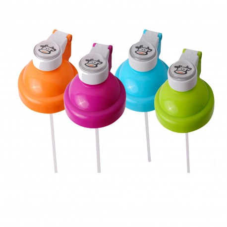 Basilic Replaceable Cap With Straw of Water Bottle (D201) - 800ml