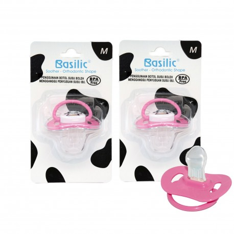 Basilic Orthodontic Soother Medium (2 Pieces)
