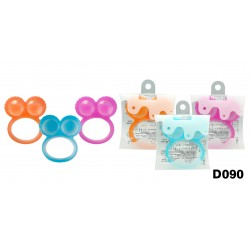 Basilic Silicone Round Teething Ring