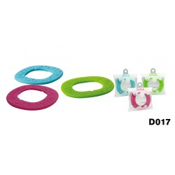 Basilic Silicone Wave Teething Ring